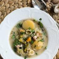 chowder z owocami morza