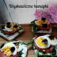 Błyskawiczne piątki - Kanapka z rukolą i jajkiem