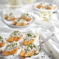 Pasta z makreli, serka i rzodkiewki