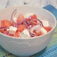 Odświeżająca sałatka z arbuza