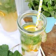 Lemoniada z białej porzeczki