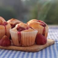 Muffiny z truskawkami