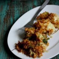 Kalafior i brokuł pod chrupiącą kołderką