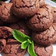 Ciasteczka czekoladowo - miętowe