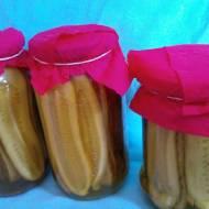 Ogórki kanapkowe w kurkumie