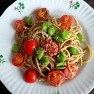 Spaghetti z bobem
