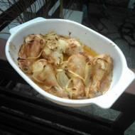pałki z   kurczaka   w majonezie