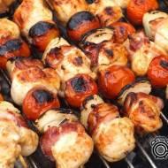 Szaszłyki z kurczaka marynowanego w musztardzie i miodzie