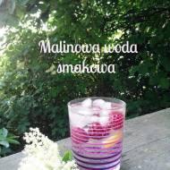Woda smakowa - malinowa