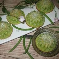Babeczki  z fasolą szparagową