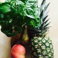 Bazyliowy sok z ananasa - wspomaga trawienie