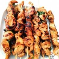 Kurczak yakitori czyli japońskie szaszłyki z kurczaka