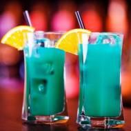 Deep Blue Sea Drink