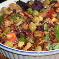 Panzanella – toskańska sałatka chlebowa