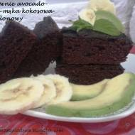 Brownie Fit. Bezgutenowe i z Avocado.