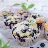 Muffinki cytrynowo-jagodowe