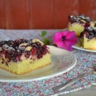 Ciasto leśne z borówkami i jeżynami