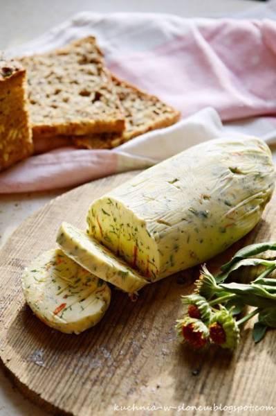 Z ŁĄKI NA TALERZ: Masło ogrodniczki