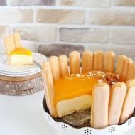 Cytrynowe ciasto z mascarpone