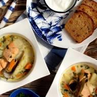 Zupa rybna z łososiem norweskim! Najsmaczniejsza!