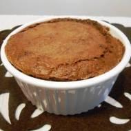 Brownie z płynną czekoladą w środku