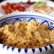 Cytrynowy hummus z suszonymi pomidorami