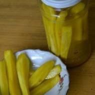 Ogórki curry na słodko-kwaśno