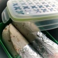 Tortilla z kurczakiem – szybki lunch do pracy