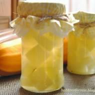 przetwory na zimę - cukinia słodko-kwaśna (jak ananas)