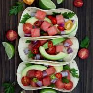 Tacos z rybą i arbuzem