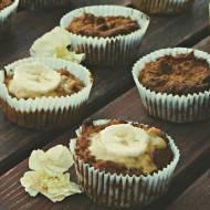 Marrchewkowo-bananowe muffiny (bez jajek, bez mleka, bez glutenu)