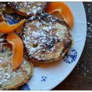 Pancakes stracciatella czyli placuszki z drobinkami czekolady (spoznione Niedzielene Sniadanie doc.89)