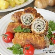 roladki wieprzowe z pieczarkami i natką pietruszki