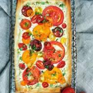 Ciasto filo z pomidorami i ricottą