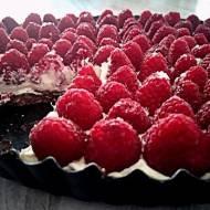 ekspresowa tarta malinowa