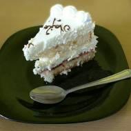 Kawa i tort urodzinowy