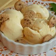 Czekoladowe lody karmelowe dla dzieci