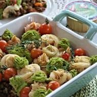 Zapiekanka mięsno warzywna z puree ziemniaczanym