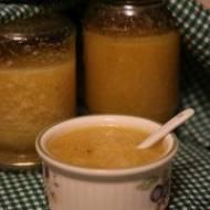 Dżem z cukinii, soku z pomarańczy i cytryny