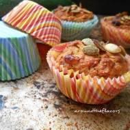 Muffiny marchewkowe z cukinią i bananem