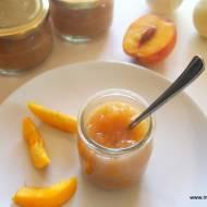 Mus jabłkowy z brzoskwiniami na zimę - idealny dla dzieci