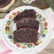 pyszne ciasto czekoladowe z cukinią