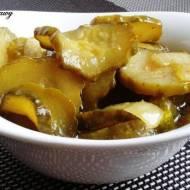 Sałatka z ogórków z Curry - przetwory