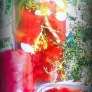 Kiszona czerwona papryka