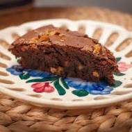 Bezglutenowe brownie - bardzo czekoladowe