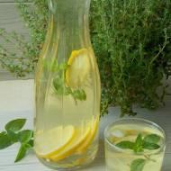 Lemoniada cytrynowo – miętowa