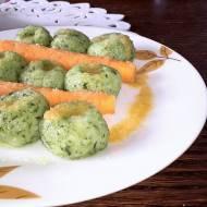 Kluski Shreka - zielone kluseczki nie tylko dla dzieci
