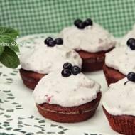 Muffiny w jagodowym kapeluszu