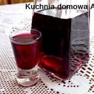 Nalewka / Likier z ciemnych winogron