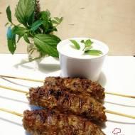 Kofta z grilla jagnięce kotleciki mielone po turecku